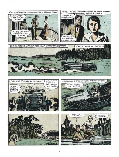 Page 9 Renée Stone tome 1 - Meurtre en abyssinie