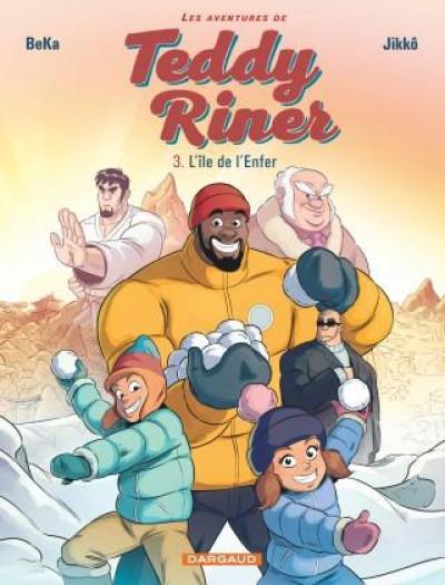 Couverture Les aventures de Teddy Riner tome 3