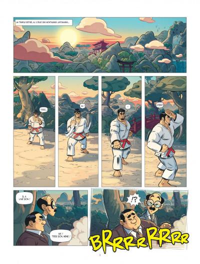 Page 3 Les aventures de Teddy Riner tome 3