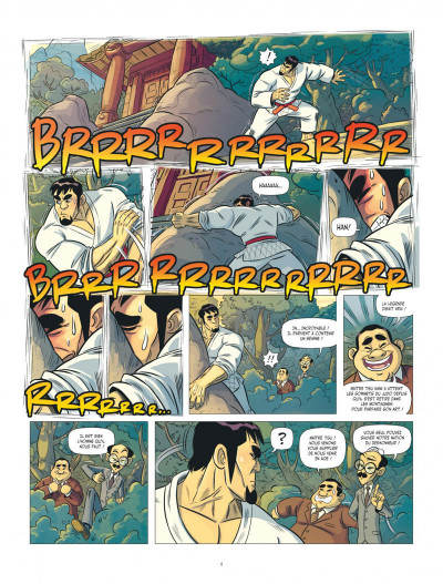 Page 4 Les aventures de Teddy Riner tome 3