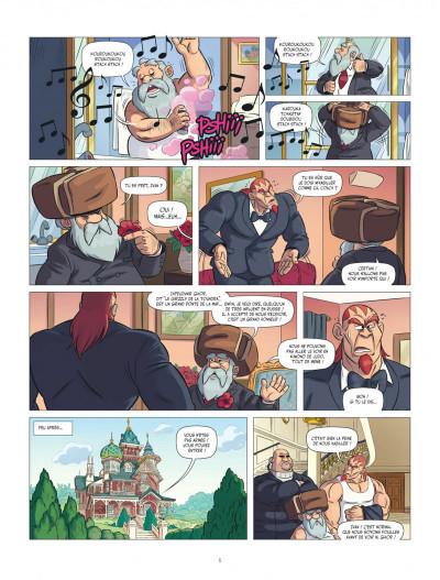 Page 5 Les aventures de Teddy Riner tome 3