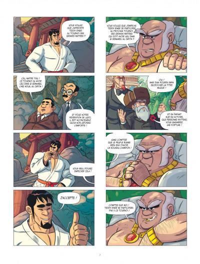 Page 7 Les aventures de Teddy Riner tome 3