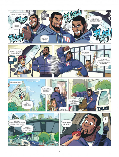 Page 8 Les aventures de Teddy Riner tome 3