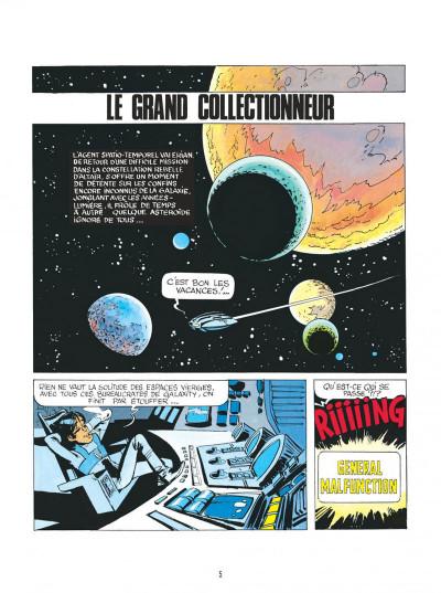 Page 5 Valérian - par les chemins de l'espace