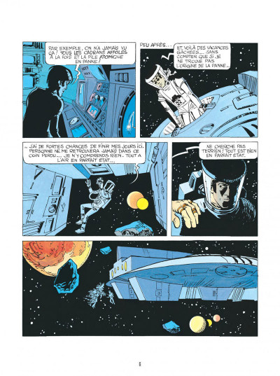 Page 6 Valérian - par les chemins de l'espace
