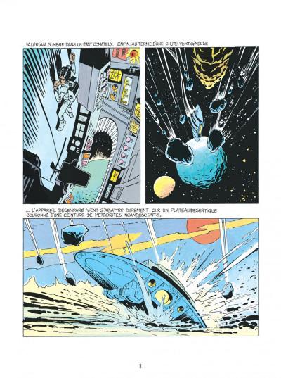 Page 8 Valérian - par les chemins de l'espace