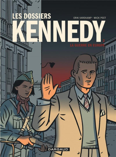 Couverture Les dossiers Kennedy tome 2