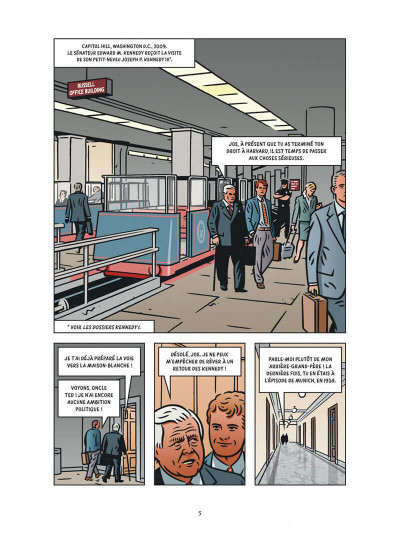 Page 5 Les dossiers Kennedy tome 2