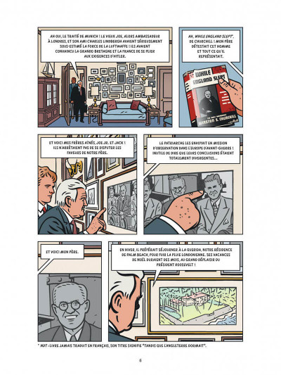 Page 6 Les dossiers Kennedy tome 2