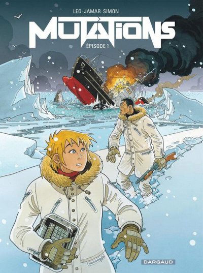 Couverture Mutations tome 1