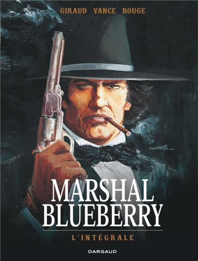 Couverture Marshal Blueberry - intégrale