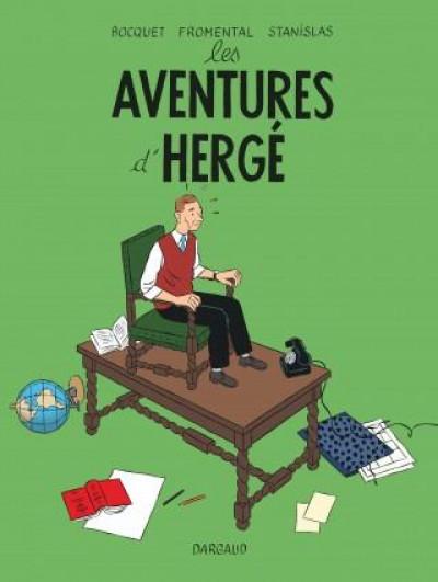 Couverture Les aventures d'Hergé - nouvelle édition augmentée