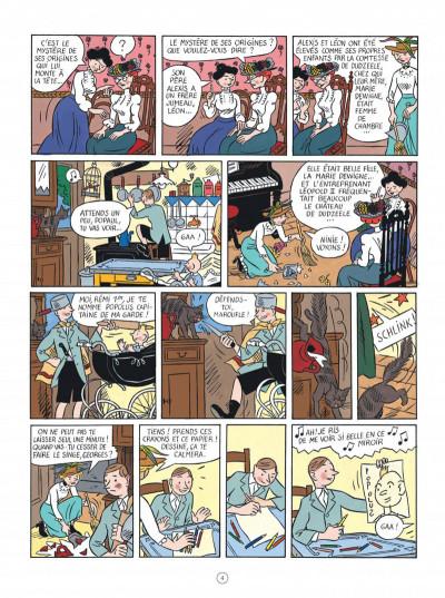 Page 4 Les aventures d'Hergé - nouvelle édition augmentée