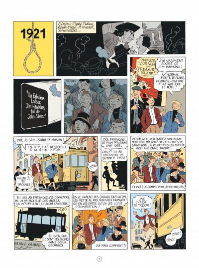 Page 5 Les aventures d'Hergé - nouvelle édition augmentée