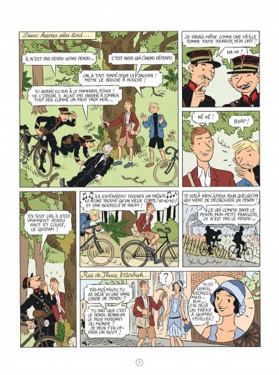 Page 7 Les aventures d'Hergé - nouvelle édition augmentée