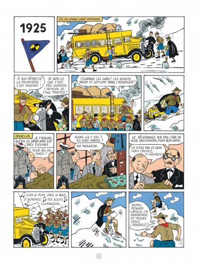 Page 9 Les aventures d'Hergé - nouvelle édition augmentée