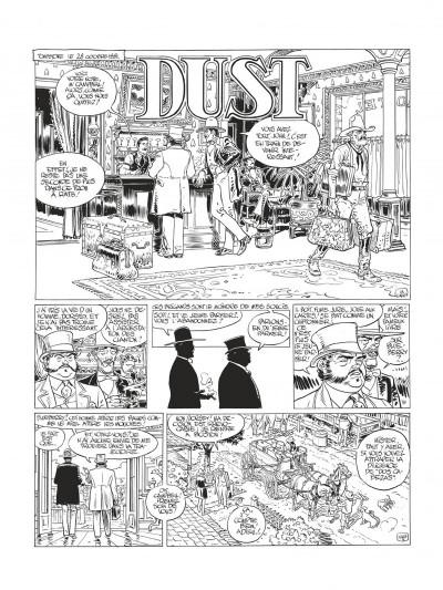 Page 5 Blueberry - édition noir et blanc tome 28 - Dust