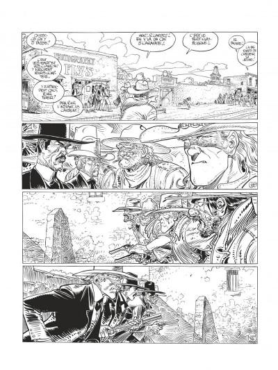 Page 7 Blueberry - édition noir et blanc tome 28 - Dust