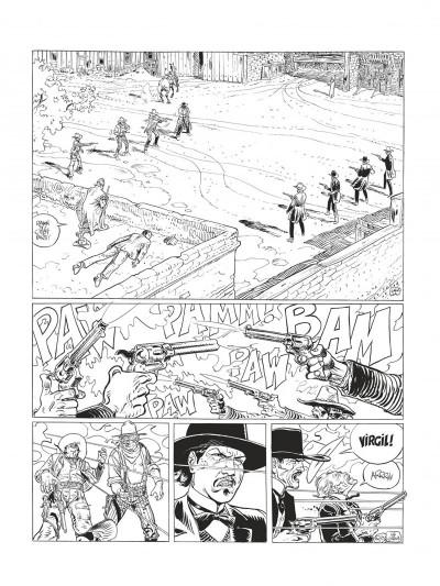 Page 8 Blueberry - édition noir et blanc tome 28 - Dust