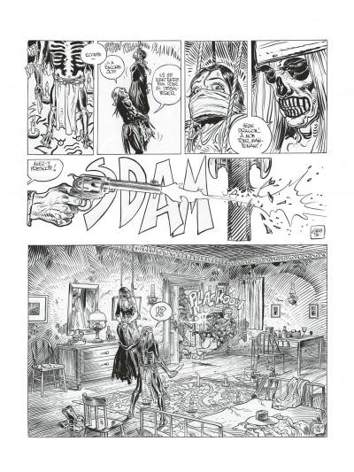 Page 9 Blueberry - édition noir et blanc tome 28 - Dust