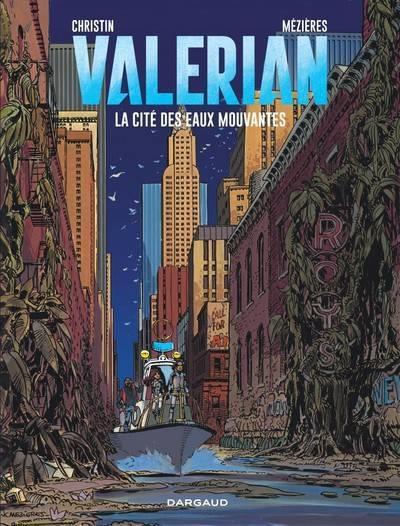 Couverture Valérian tome 1 - la cité des eaux mouvantes