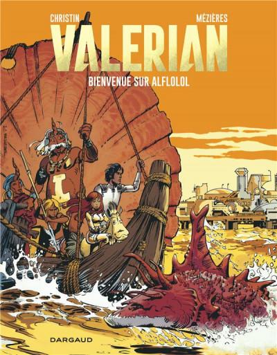 Couverture Valérian tome 4 - bienvenue sur Alflolol