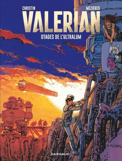 Couverture Valérian tome 16 - les otages de l'Ultralum