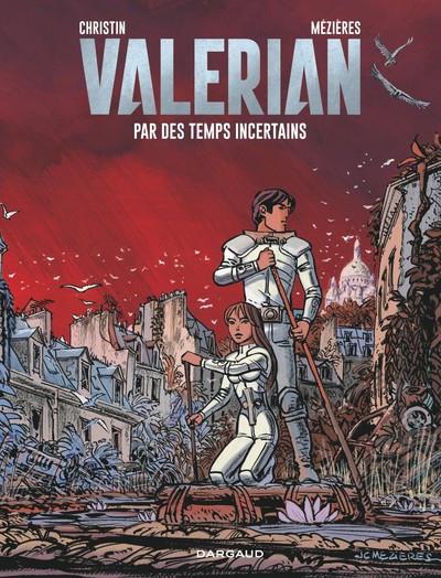 Couverture Valérian tome 18 - Par des temps incertains