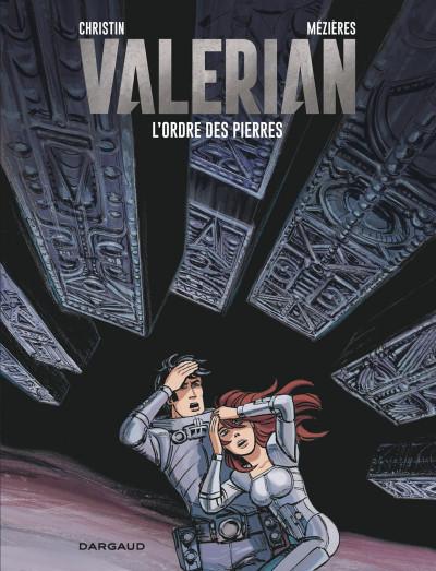 Couverture Valérian tome 20 - L'ordre des pierres