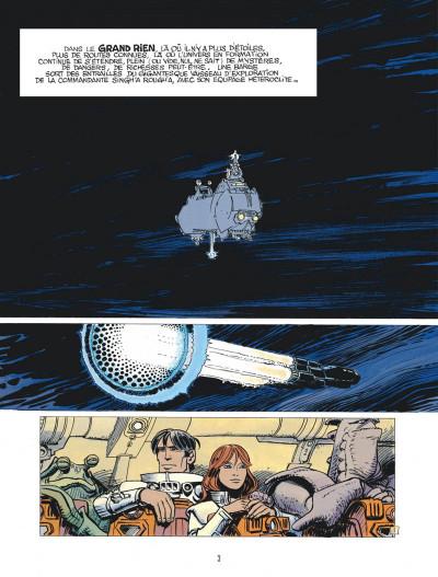 Page 3 Valérian tome 20 - L'ordre des pierres