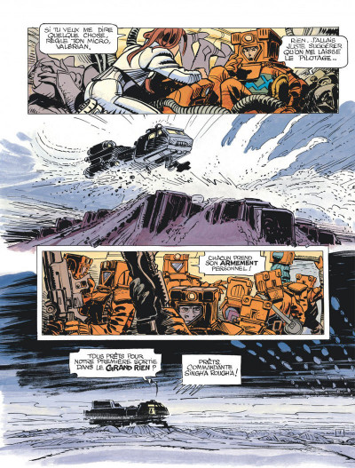 Page 9 Valérian tome 20 - L'ordre des pierres