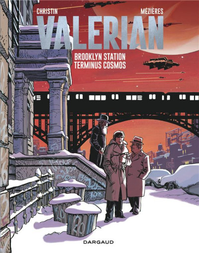 Couverture Valérian tome 10 - Brooklyn station - terminus cosmos