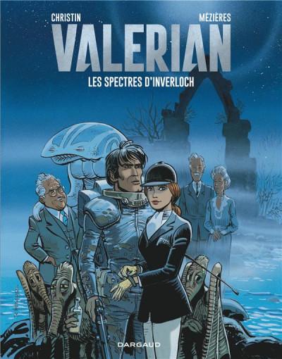 Couverture Valérian tome 11 - les spectres d'Inverlock
