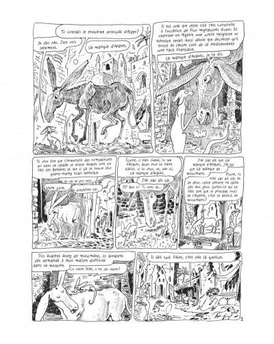Page 3 Le chat du rabbin tome 7 - grand format noir et blanc
