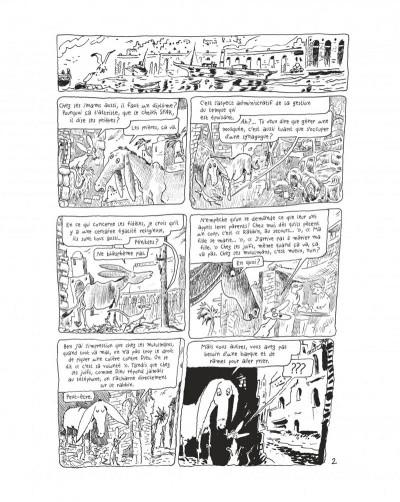 Page 4 Le chat du rabbin tome 7 - grand format noir et blanc