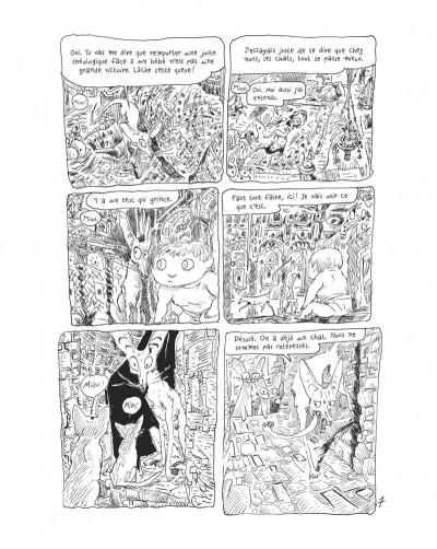 Page 9 Le chat du rabbin tome 7 - grand format noir et blanc