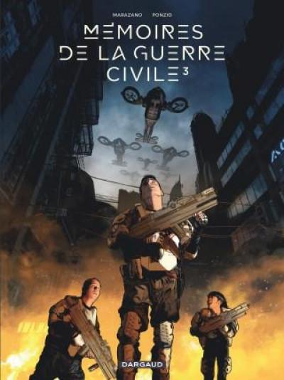 Couverture Mémoires de la guerre civile tome 3