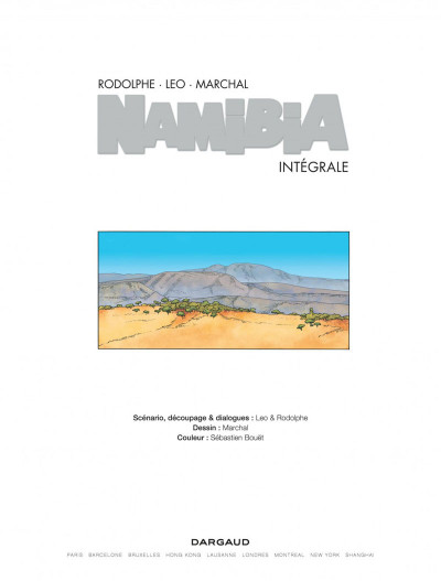 Page 2 Namibia - intégrale