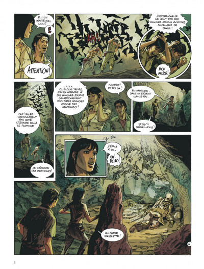 Page 8 Amazonie tome 3