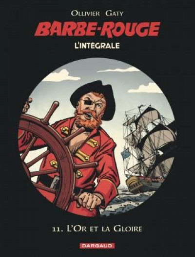 Couverture Barbe Rouge - intégrale tome 11