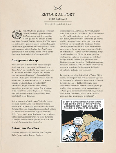 Page 3 Barbe Rouge - intégrale tome 11
