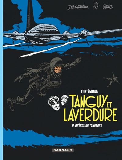 Couverture Tanguy et Laverdure - intégrale tome 9