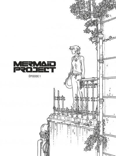 Page 3 Mermaid project - intégrale noir et blanc