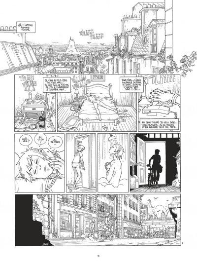 Page 5 Mermaid project - intégrale noir et blanc