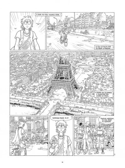 Page 6 Mermaid project - intégrale noir et blanc