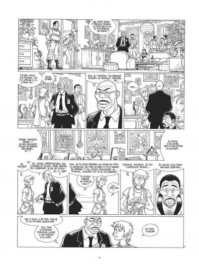 Page 7 Mermaid project - intégrale noir et blanc