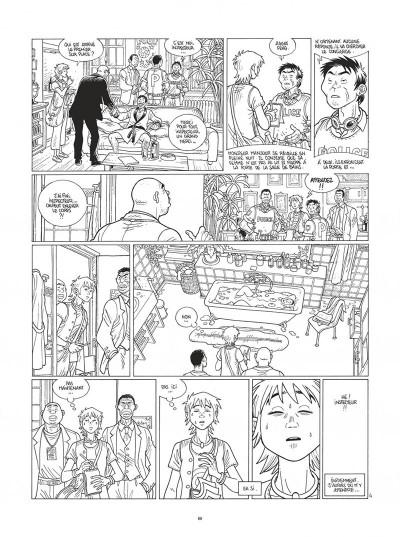 Page 8 Mermaid project - intégrale noir et blanc