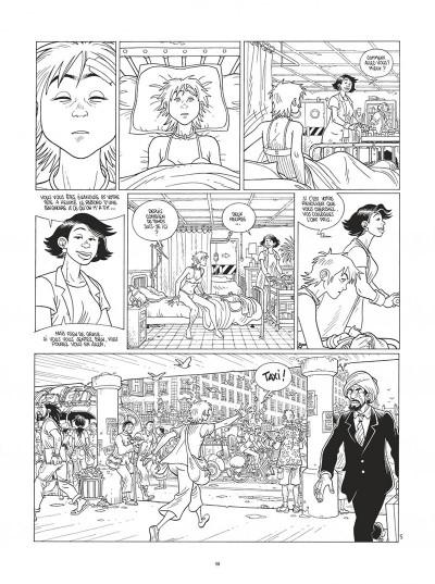 Page 9 Mermaid project - intégrale noir et blanc