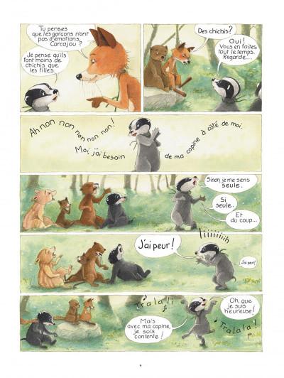 Page 4 La famille blaireau-renarde tome 1