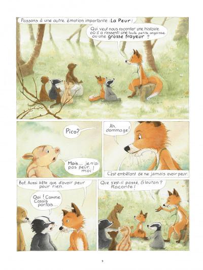 Page 9 La famille blaireau-renarde tome 1